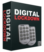 Digital Lock Down Software Software with Resell Rights Only