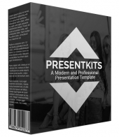 New Premium Presentation Template Volume III Graphic with private label rights