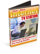 Your Own Internet TV Station Software with Resell Rights