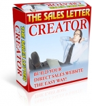 Sales Letter Creator Software with Resell Rights