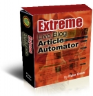 Extreme Live blog Article Automator Software with Resell Rights