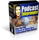 PodCast Teleprompter Software with Resell Rights