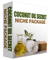 Coconut Oil Secret Niche Package Template with Personal Use Rights