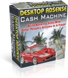 Desktop Adsense Cash Machine Software with Resell Rights