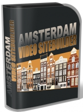 Amsterdam Video Site Builder Software Software with Master Resell Rights/Giveaway Rights