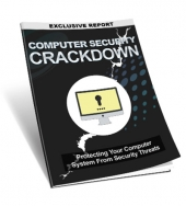 Computer Security Crackdown eBook with Master Resell Rights