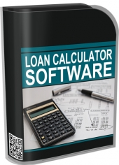 Loan Calculator Software Software with Master Resell Rights/Giveaway Rights