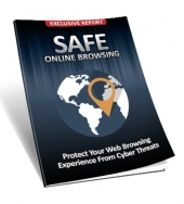 Safe Online Browsing eBook with Master Resell Rights