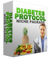 Diabetes Protocol Niche Site Package Template with Personal Use Rights
