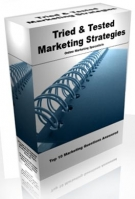 Tried & Tested Marketing Strategies Software with Resell Rights