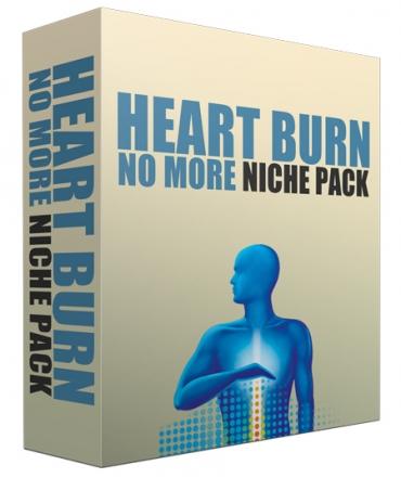 Heart Burn No More Complete Niche Site Pack