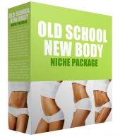 Old School New Body Complete Niche Site Pack Template with Personal Use Rights