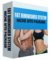 Fat Diminisher Niche Site Package Template with Personal Use Rights