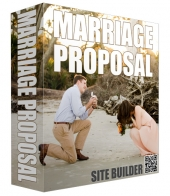 New Marriage Proposal Site Builder Software with private label rights