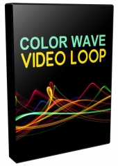 Color Wave Video Loops Pack Video with Personal Use Rights
