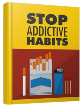 Stop Addictive Habits eBook with private label rights
