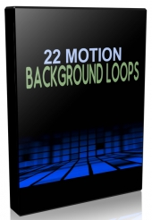 22 Motion Background Loops Video with private label rights