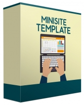 Minisite Template 2016 V44 Template with Private Label Rights