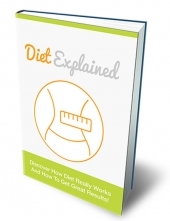 Diet Explained eBook with Master Resell Rights/Giveaway Rights