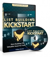 List Building Kickstart Video Upgrade Video with Master Resell Rights/Giveaway Rights