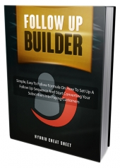 Follow Up Builder eBook with Master Resell Rights/Giveaway Rights