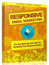 Responsive Email Marketing eBook with Master Resell Rights/Giveaway Rights