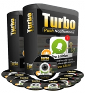 Turbo Push Notifications PRO Software with Personal Use Rights