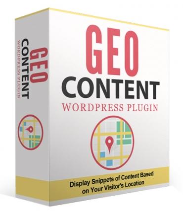 GeoContent WordPress Plugin