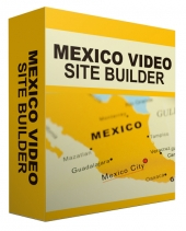 Mexico Travel Video Site Builder Software with Master Resell Rights/Giveaway Rights