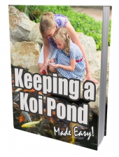 Keeping A Koi Pond eBook with private label rights