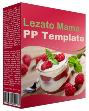 Lezato Mama Multipurpose Powerpoint Template