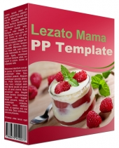 Lezato Mama Multipurpose Powerpoint Template Graphic with Personal Use Rights