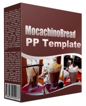 Mocachino Bread Multipurpose Powerpoint Template Graphic with Personal Use Rights