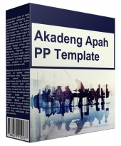 Akadeng Apah Multipurpose Powerpoint Template Graphic with Personal Use Only