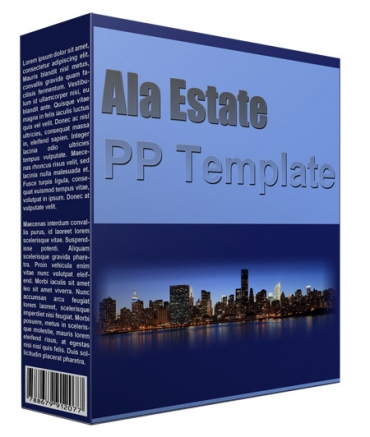 Ala Estate Multipurpose Powerpoint Template