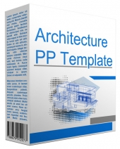 Architecture Multipurpose Powerpoint Template Graphic with Personal Use Only