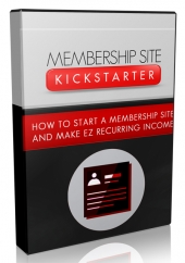 Membership Site Kickstarter Video Upgrade Video with Master Resell Rights/Giveaway Rights