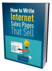 Write Internet Sales Pages That Sell eBook with private label rights