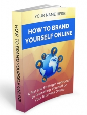 How Brand Yourself Online eBook with Private Label Rights