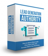 Lead Generation Authority eBook with Master Resell Rights