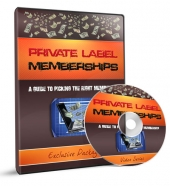Private Label Memberships Guide Video Upgrade Video with Master Resell Rights/Giveaway Rights