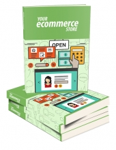 Your eCommerce Store eBook with Master Resell Rights