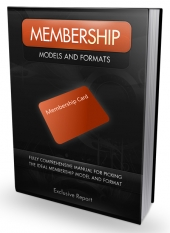 Membership Models & Formats eBook with Master Resell Rights/Giveaway Rights
