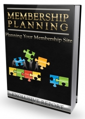 Membership Planning eBook with Master Resell Rights/Giveaway Rights