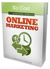 No Cost Online Marketing eBook with Master Resell Rights/Giveaway Rights