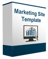 Marketing Minisite Template V82016 Template with Private Label Rights