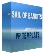 Sail Of Bandits Multipurpose Powerpoint Template Graphic with Personal Use Rights