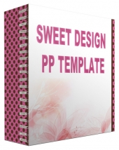 Sweet Design Multipurpose Powerpoint Template Graphic with Personal Use Rights