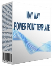 MayWay Multipurpose Powerpoint Template Graphic with Personal Use Rights