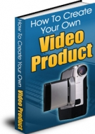How To Create Your Own Video Product eBook with Master Resale Rights
